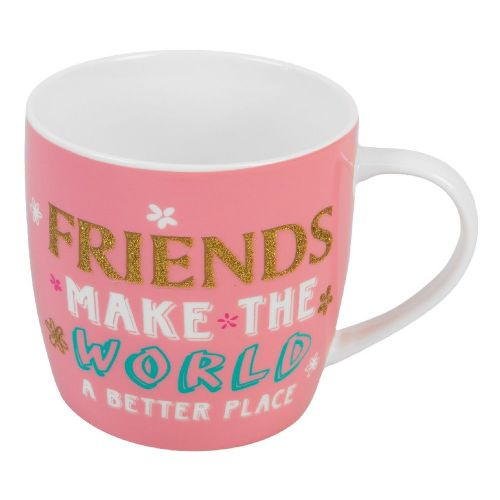 Friends Make The World A Better Place Mug Gift For Friend